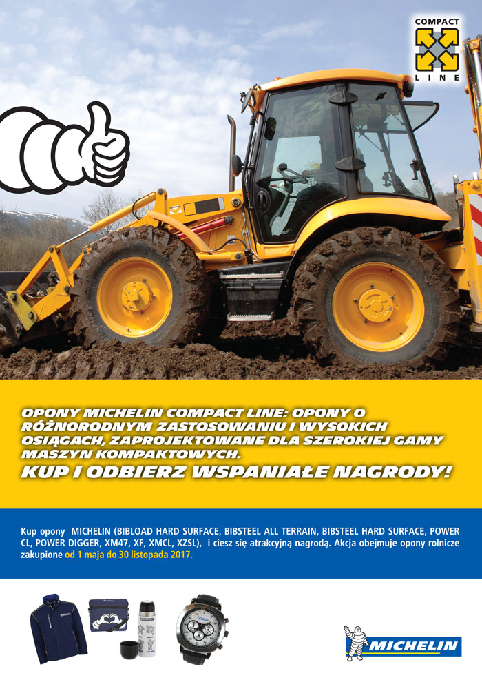Promocja opon Michelin Compact Line